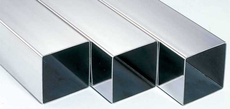 Stainless square pipe